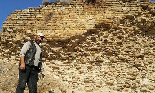 Koyun otlatırken 2 bin yıllık tarih buldu
