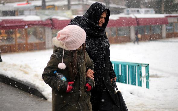 İstanbul saatlik hava durumu kar ne zaman başlayacak?