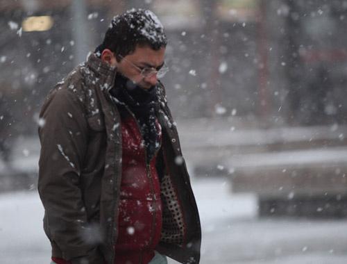 Ankara saatlik hava durumu kar fena bastıracak!