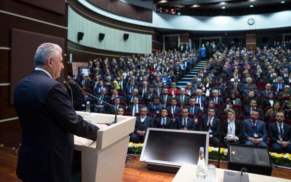 AK Parti teşkilatlarından referandum startı