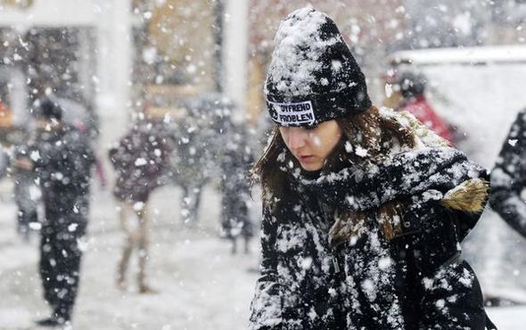 İstanbul hava durumu! Kar fena bastıracak