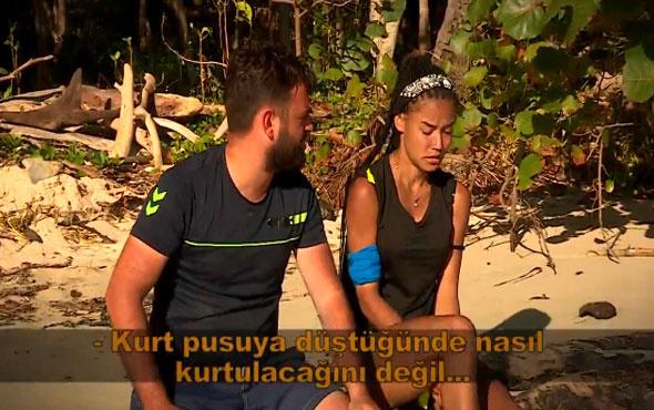 Survivor'da Fulya'nın vedası ortalığı karıştırdı