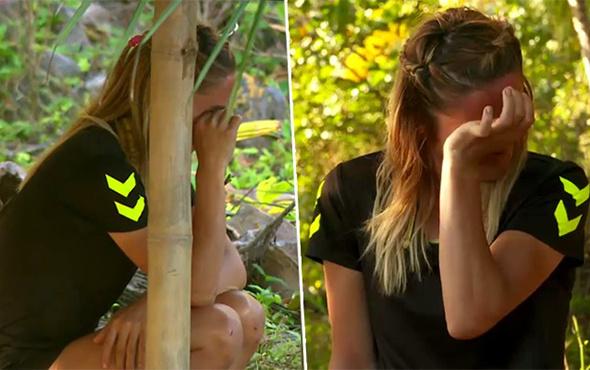 Oğlunu özleyen Survivor yarışmacısı gözyaşlarını tutamadı!