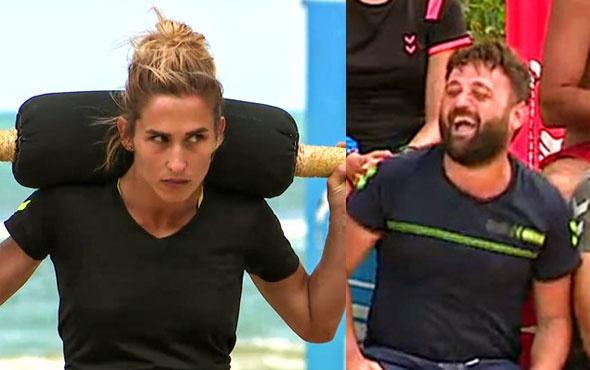 Survivor'da Erdi Sema'yı çok kızdırdı!