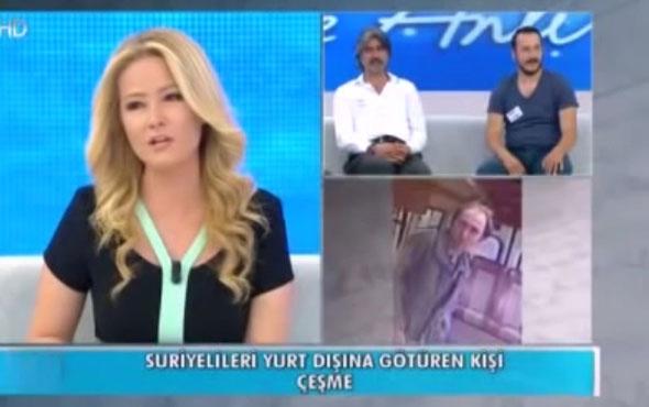 Müge Anlı'ya ceza aldıran insan kaçakçısı yayını