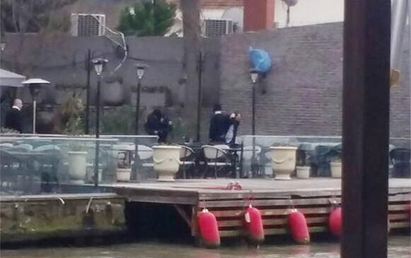 Beykoz'da bir restoranda silahlı saldırı
