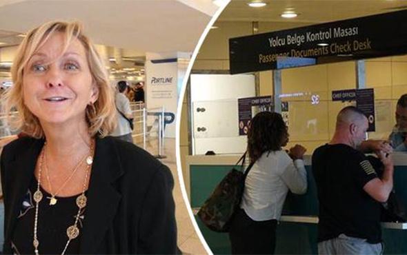 Vize alamayan Amerikalı yolcular İstanbul'dan geri döndü!