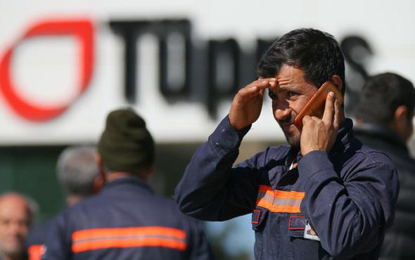 İşçiler TÜPRAŞ'taki korkunç patlama anını anlattı!
