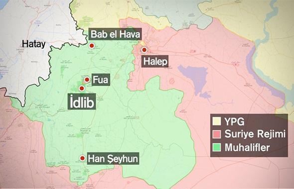 İdlib'e bordo bereliler girdi son dakika haberler var