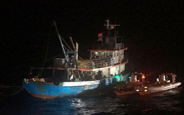Suriye'den PKK'lı taşıyan gemiye baskın! İşte ayrıntılar...