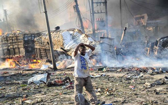 Somali'de bilanço ağırlaşıyor! Ölü sayısı 189'a çıktı...