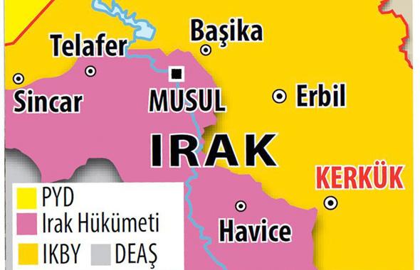 Kerkük savaşında son durum! Kürtler şokta nereler alındı?