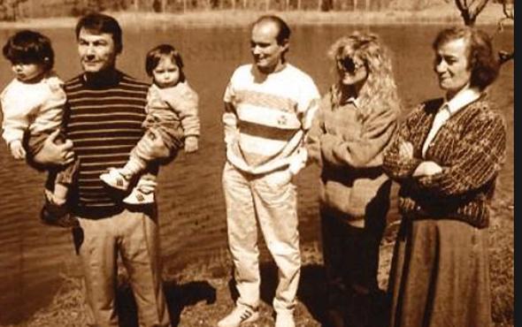 Deniz Baykal'ın eşi Olcay Baykal ve çocukları
