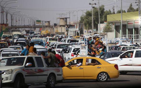 Onbinler Kerkük'ü terk ediyor! Erbil yolundalar!
