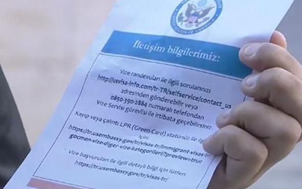 ABD'den vize krizinin ardından yeni açıklama