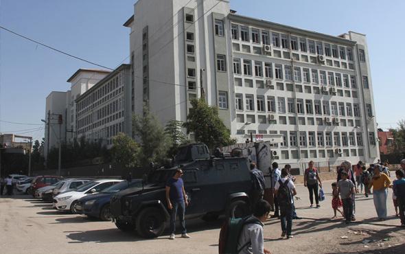 Adana'da okul bahçesinde molotofkokteyli bulundu