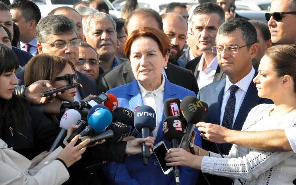 Akşener'den 'Cumhurbaşkanlığına adaylık' açıklaması