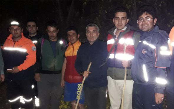 Konya'da kanyonda kaybolan 4 kişi kurtarıldı