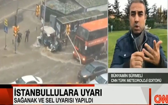 Bünyamin Sürmeli uyardı! İstanbul'da sel suları tehlikeye neden olabilir