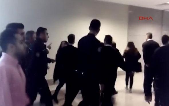 İstanbul Adliye'sinde gerginlik