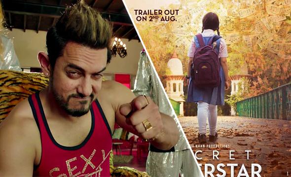Aamir Khan'ın yeni filmi Secret Superstar'dan ilk fragman
