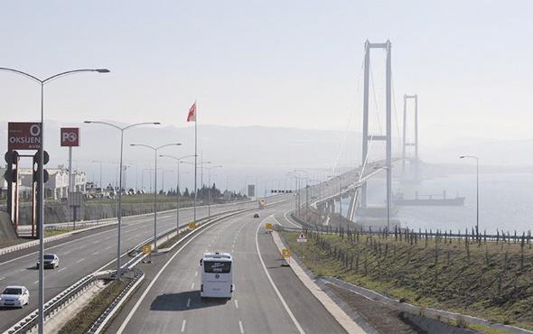 Osmangazi Köprüsü'nden ne kadar araç geçti? İşte rakamlar