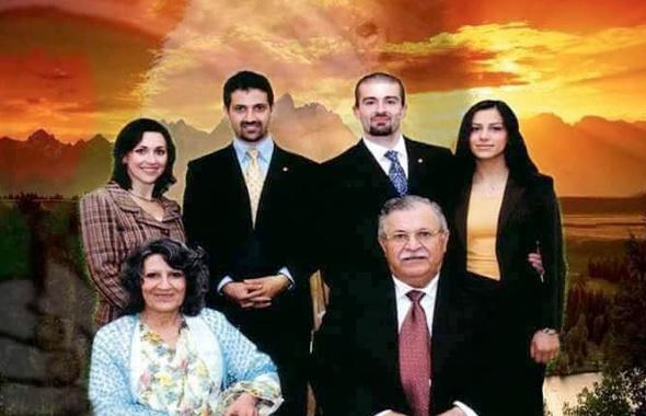 Celal Talabani yerine geçecek oğlu kimdir? Yahudi eşi ve...