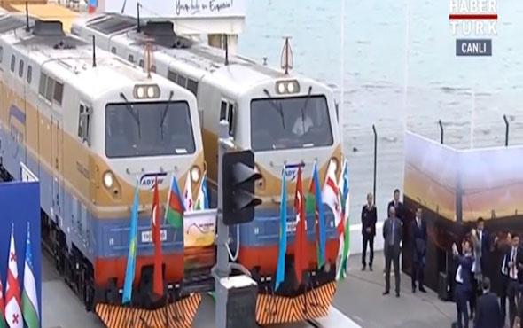 Demir İpek Yolu projesi ilk vagon yola çıktı
