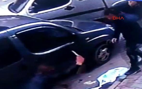 Sokak ortasındaki cinayet kamerada!