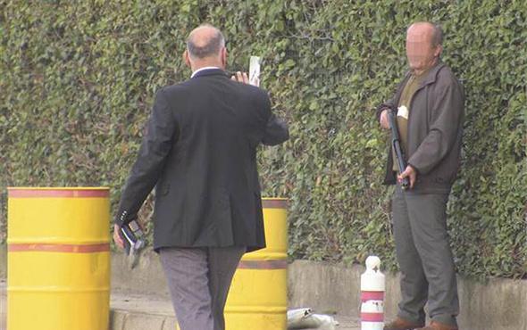 Pompalı tüfekle havaya ateş açan kişiyi polis ikna etti!
