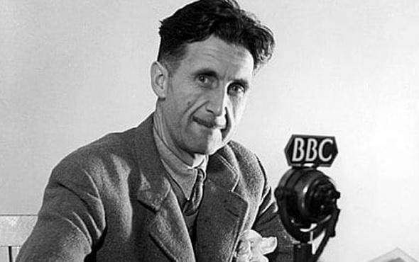 George Orwell kimdir ajan mı Hayvan Çiftliği ve 1984 kitaplarına bakın