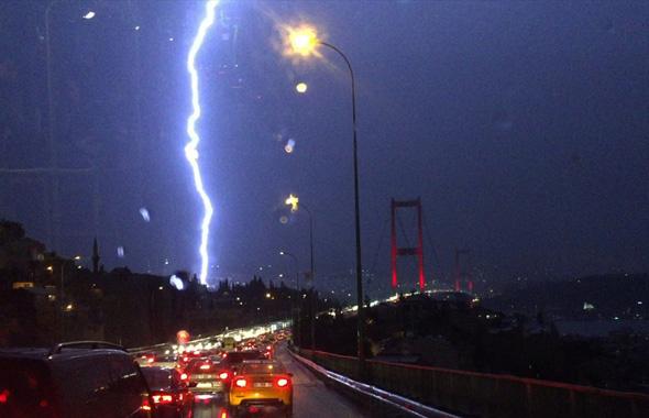 İstanbul'da pazar günü için korkutan benzetme