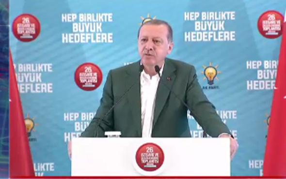 Erdoğan'dan Barzani'ye '16 yaşımdaki hayalimdi' yanıtı