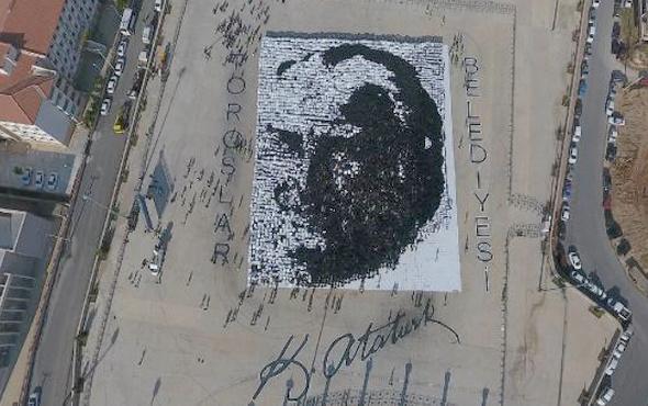 Mersin'de 7 bin 700 gönüllü ile muhteşem rekor
