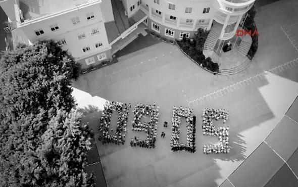 Öğrencilerden anlamlı 10 Kasım videosu