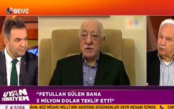 Perinçek: Gülen'le buluşmayı reddedince '5 milyon dolardan başlar' dediler