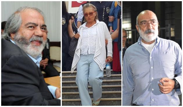 Ahmet Altan-Mehmet Altan ve Nazlı Ilıcak için karar verildi