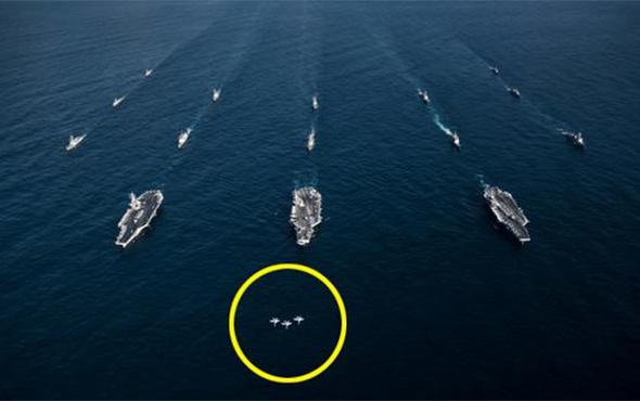 Amerikan donanması savaş düzenine geçti neler oluyor?