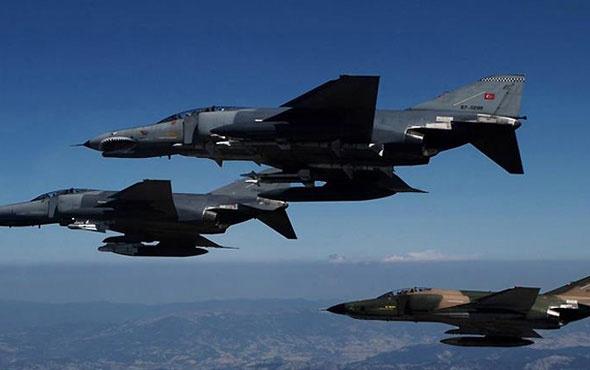 Saldırı hazırlığındaki teröristlere F-16 şoku!