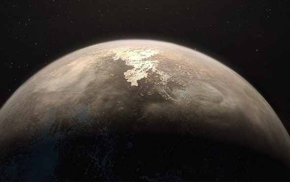 Bilim dünyasını heyecanlandıran keşif yeni gezegene bakın