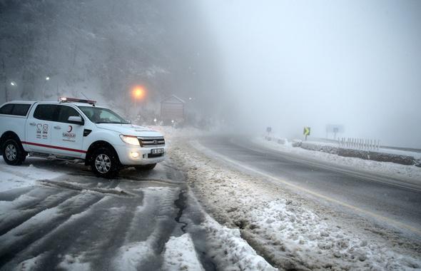 Ankara'da kar bitti mi hava durumu tahmini 5 gün için...