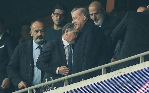 Beşiktaş golü yedi Erdoğan bombayı patlattı!