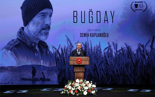 Cumhurbaşkanı Erdoğan, Buğday filminin galasında konuştu!