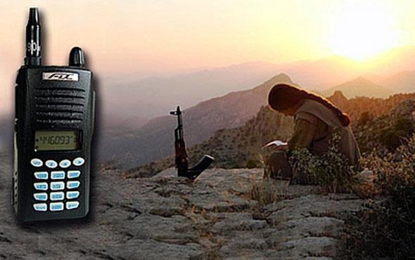 Karadeniz'de PKK'lı teröristlerin ilginç telsiz konuşmaları