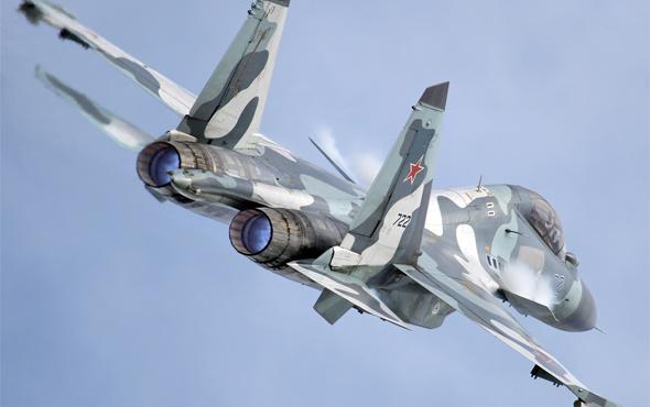 Rus savaş uçağı ABD keşif uçağı için havalandı
