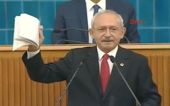 Kılıçdaroğlu'nun gösterdiği belgeler için kim ne manşet attı