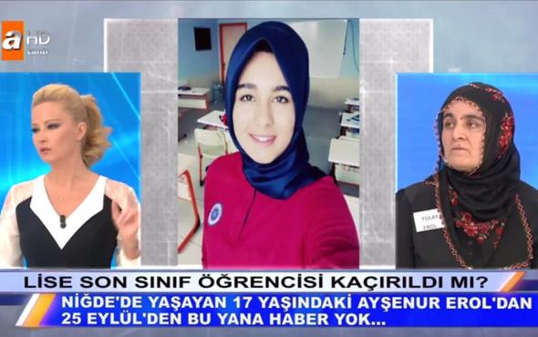 Müge Anlı 17 yaşındaki Ayşenur bulundu mu çıplak fotoğrafla şantaj!