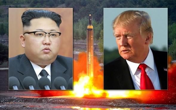 Trump'tan Kuzey Kore açıklaması!