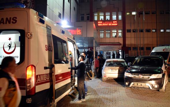 Gümüşhane'de otomobil, kontrol noktasındaki polise çarptı: 1 şehit
