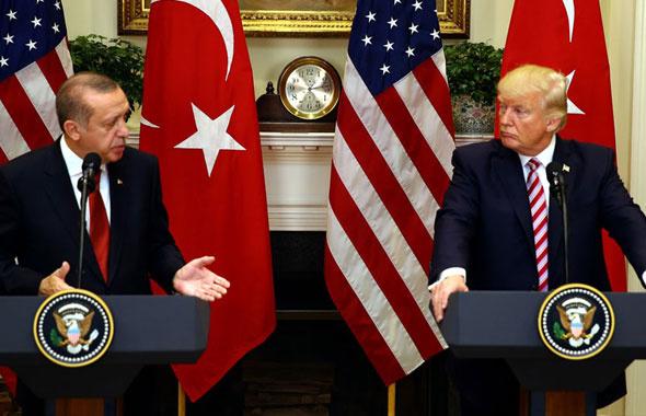Erdoğan önüne haritayı açıp Trump'a o soruyu sordu! Trump şaşırdı...